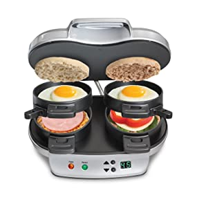maker station 3in1 egg muffin pan west cooker bend toaster press cheese best rated Gadgets for guys