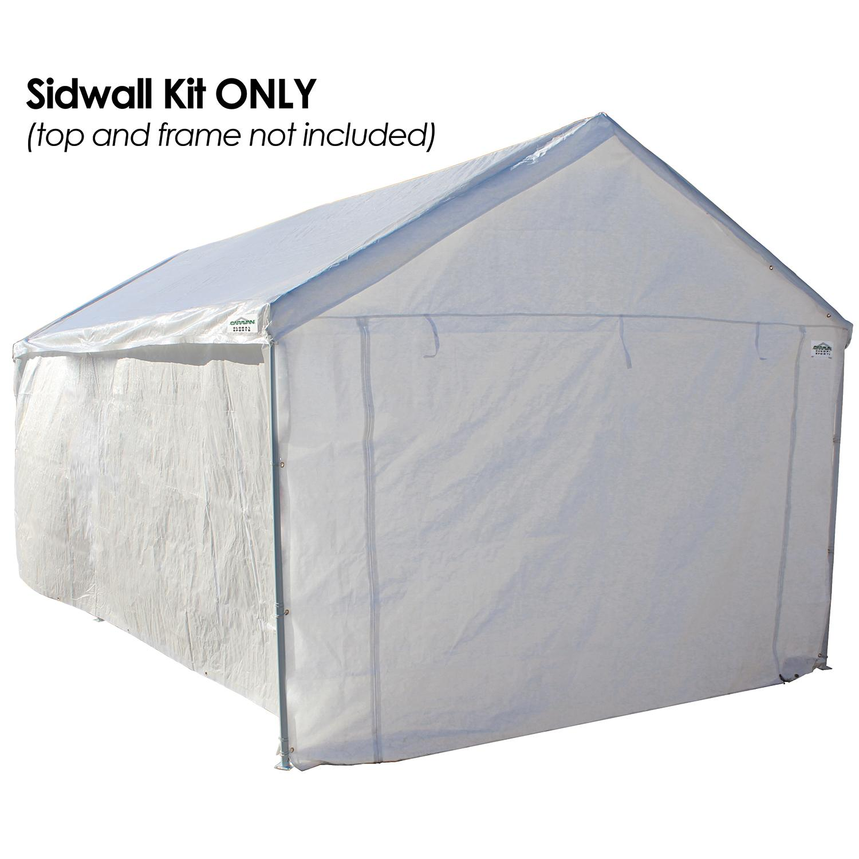 domain sidewalls  sc 1 st  Amazon.ca & Caravan Canopy Side Wall Kit for Domain Carport White: Amazon.ca ...