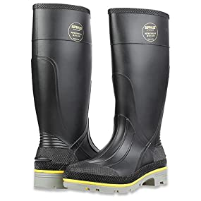 "Servus XTP 15"" PVC Chemical-Resistant Steel Toe Men's Work Boots, pvc boots, pvc work boots"