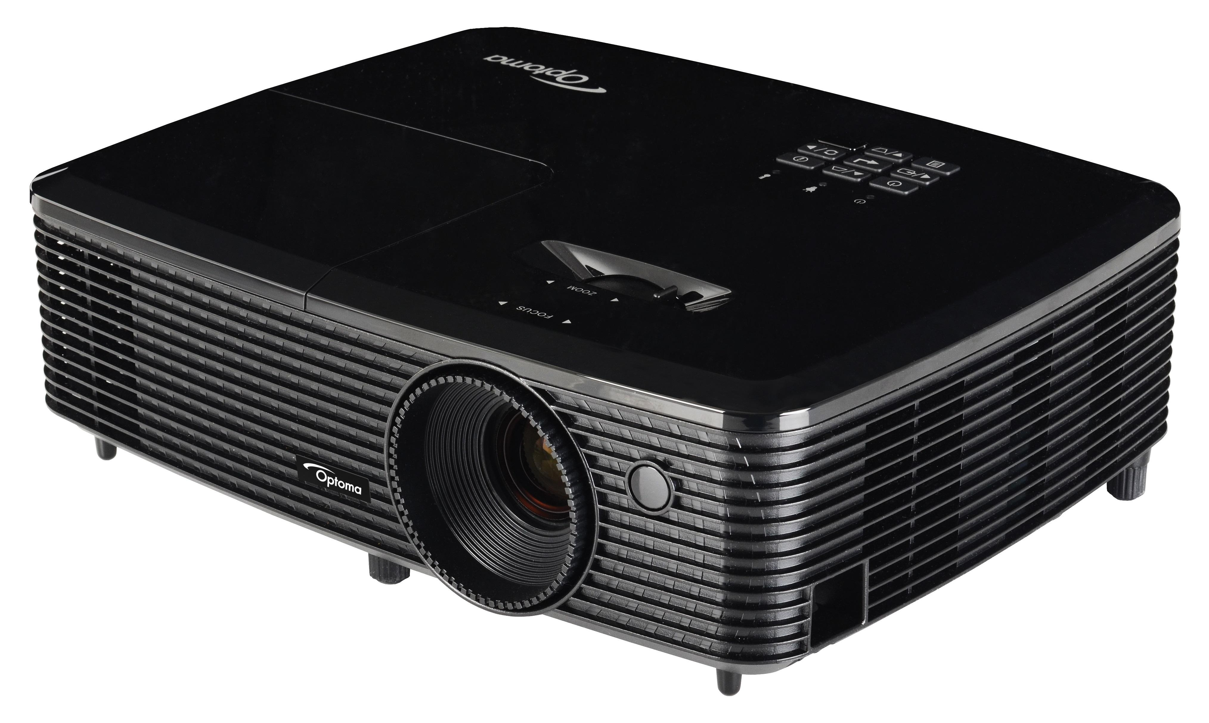 Optoma Hd142x 3d Dlp Home Theatre Projector Amazon In