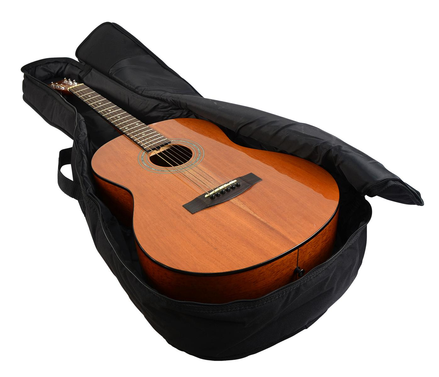 gator cases gbe mini acou mini acoustic guitar gig bag musical instruments. Black Bedroom Furniture Sets. Home Design Ideas