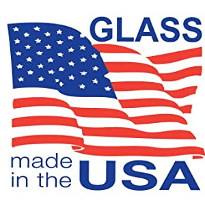 anchor hocking; glassware; made in the usa; 110 years; glass
