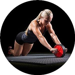 ProSource protective flooring, foam floor mats, workout mat, gym matting