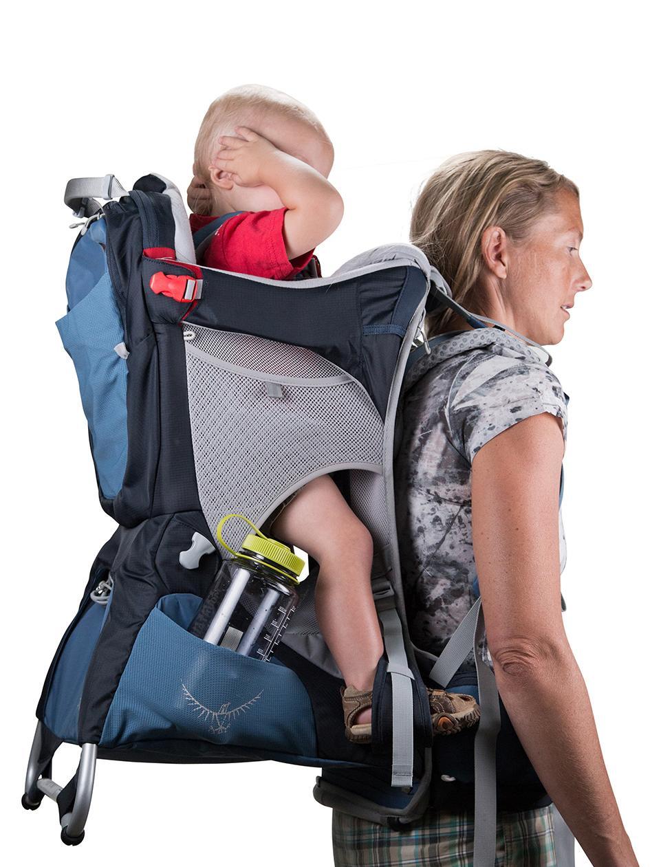 Black Osprey Packs Poco AG Child Carrier