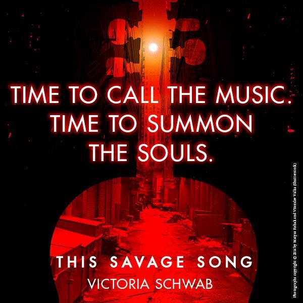 This Savage Song Victoria Schwab Amazon Com Mx Libros