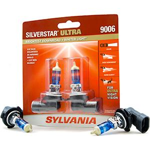 Halogen Headlights 9006 Silverstar Ultra Sylvania