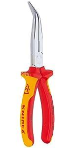 alicates para quitar clips de ajuste Alicates abiertos para tapicer/ía de puertas de autom/óviles y tablero de instrumentos YanFeng Alicates ligeros