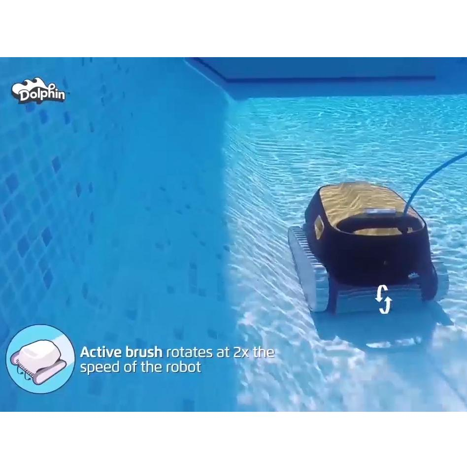 Amazon Com Dolphin Triton Plus Robotic Pool Cleaner With