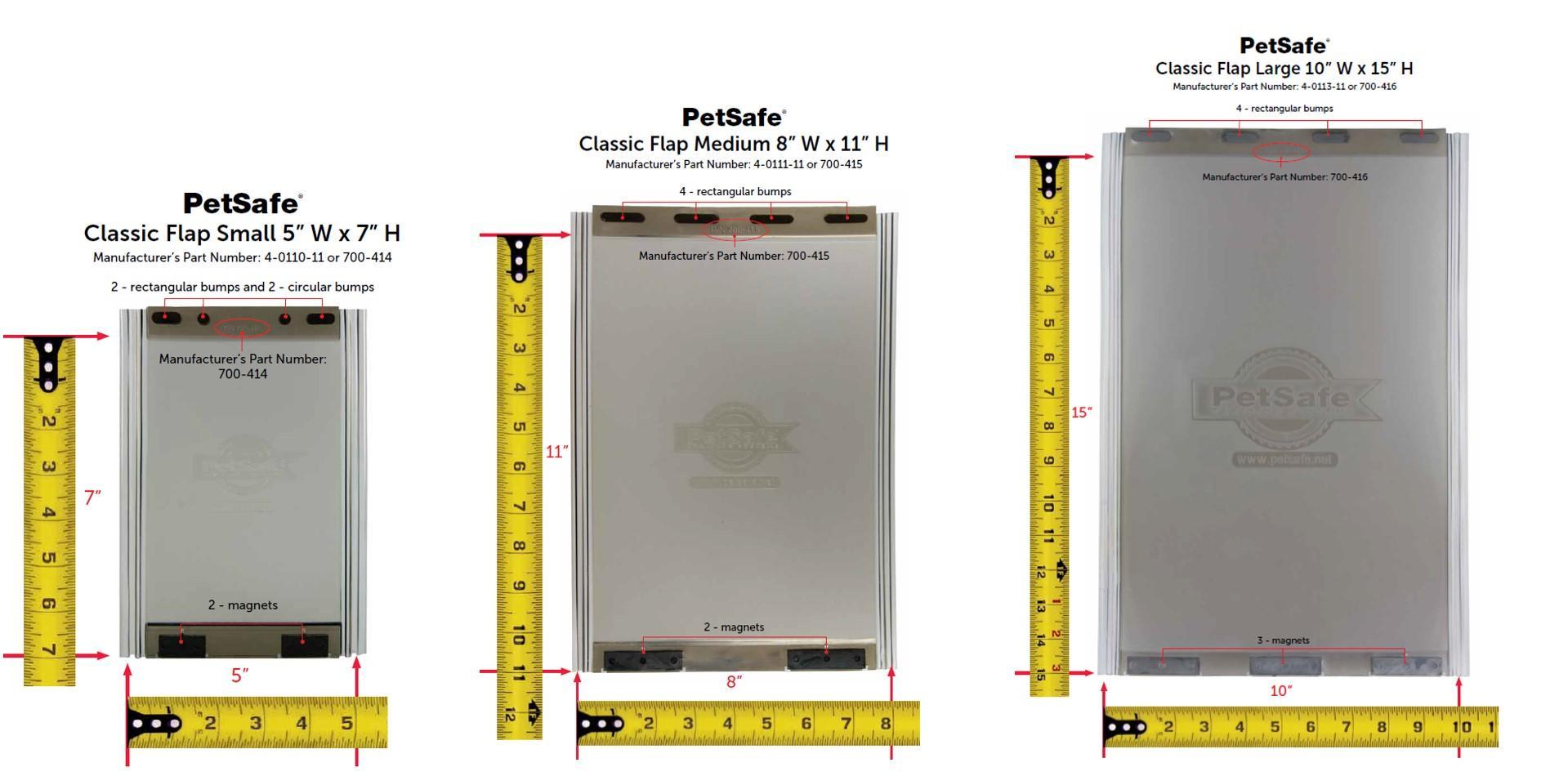 Amazon Com Petsafe Classic Replacement Flap Large 700