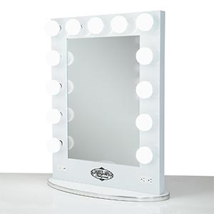 Amazon Com White Vanity Girl Broadway Lighted Vanity