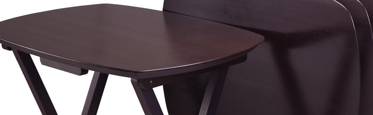 Amazon.com: Winsome Wood TV Table, Dark Espresso Finish, Set of 4 ...