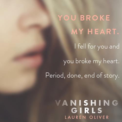 8e1bced9eeea0 Amazon.com  Vanishing Girls (9780062224118)  Lauren Oliver  Books