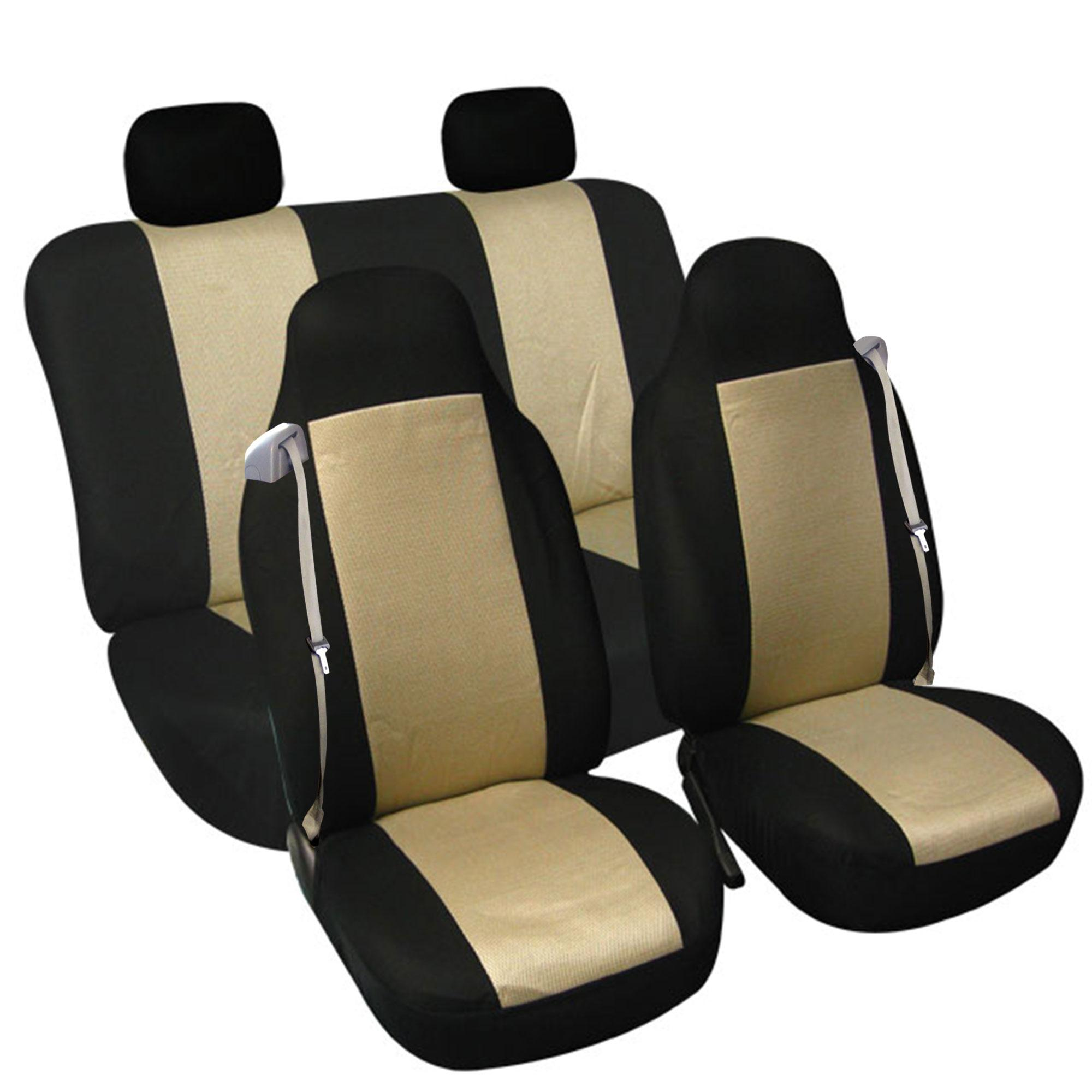 FH Group FB302GRAY102 Gray Classic Cloth Built In Seatbelt