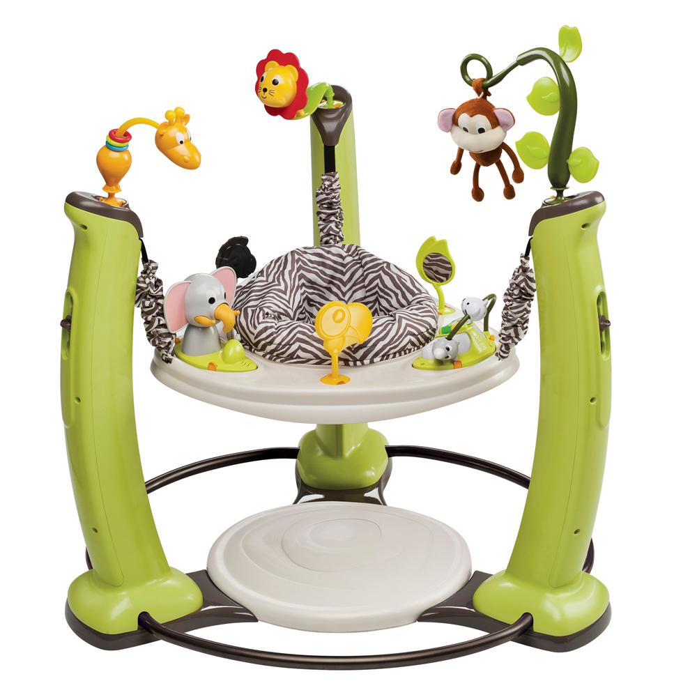 evenflo exersaucer jump and learn jumper jungle quest amazonca  - view larger