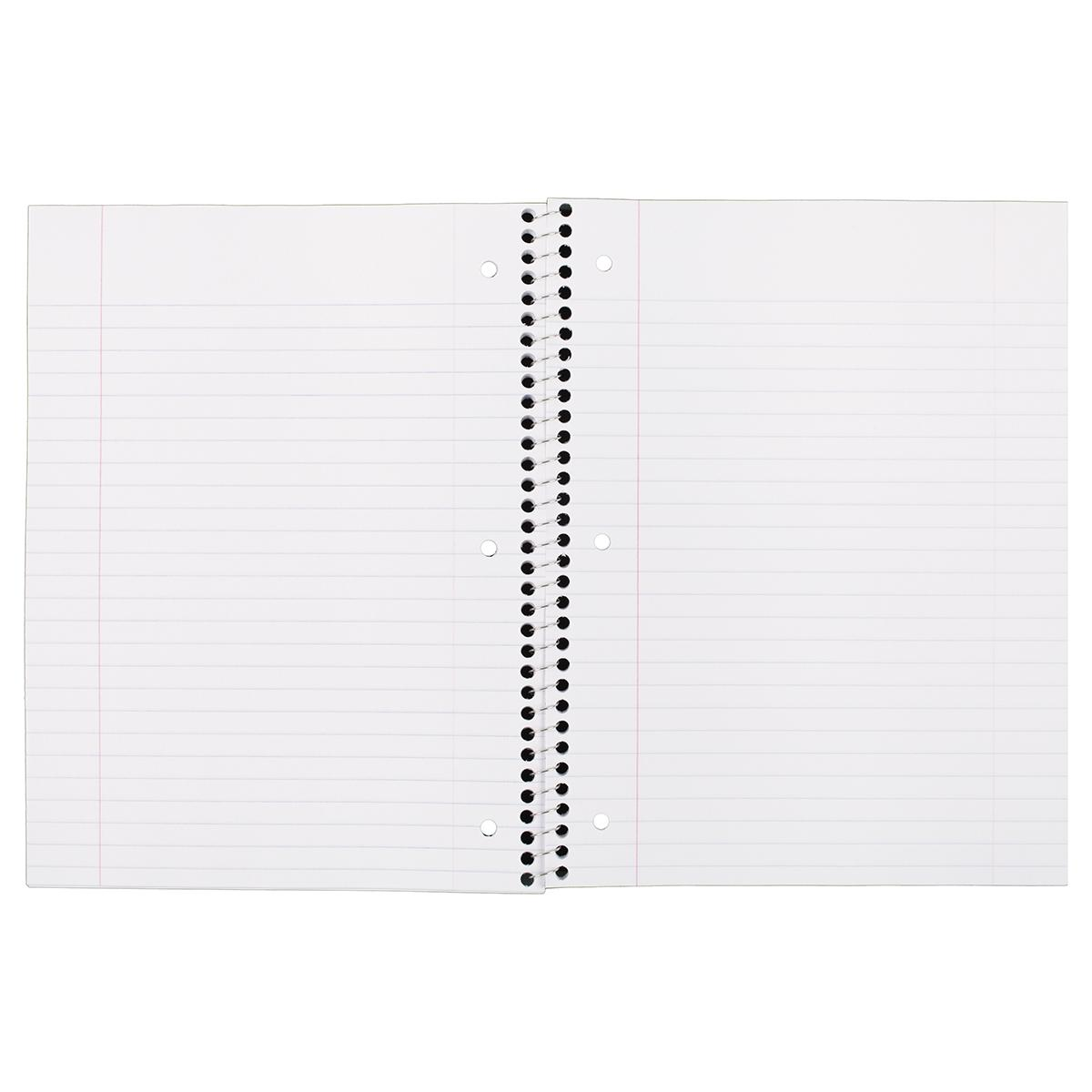 Amazon.com : Mead Spiral Notebooks, 1 Subject, Wide Ruled