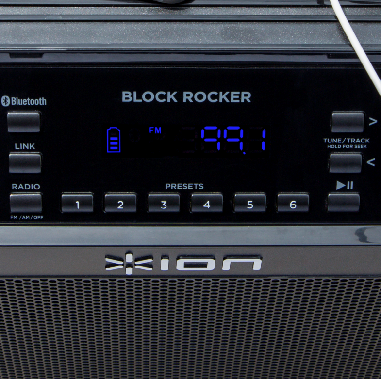 Portable Bluetooth Speaker With Mic, Radio, And