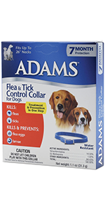 Amazon Com Adams Flea And Tick Collar For Dogs Pet