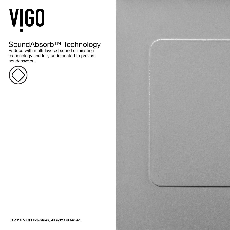 Vigo 36 0 In X 22 25 In Premium Satin Single Basin: Vigo VGR3320C 33 Inch Farmhouse Apron Front 16 Gauge