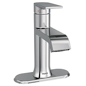 Moen Genta One-Handle Bathroom Faucet
