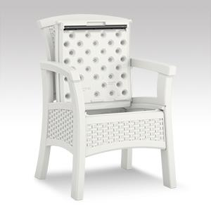 Amazon Com Suncast Elements Bmdc1400wd Dining Chair With