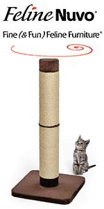 Feline Nuvo Grand Forte Scratching Post
