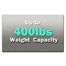 400 lbs Weight Capacity