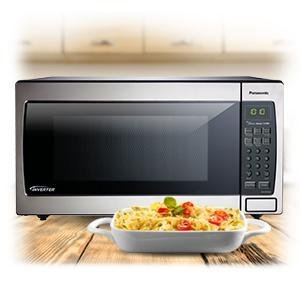 Amazon Com Panasonic Microwave Oven Nn Sn766s Stainless Steel Countertop Built In With Inverter Technology And Genius Sensor 1 6 Cubic Foot 1250w Kitchen Dining