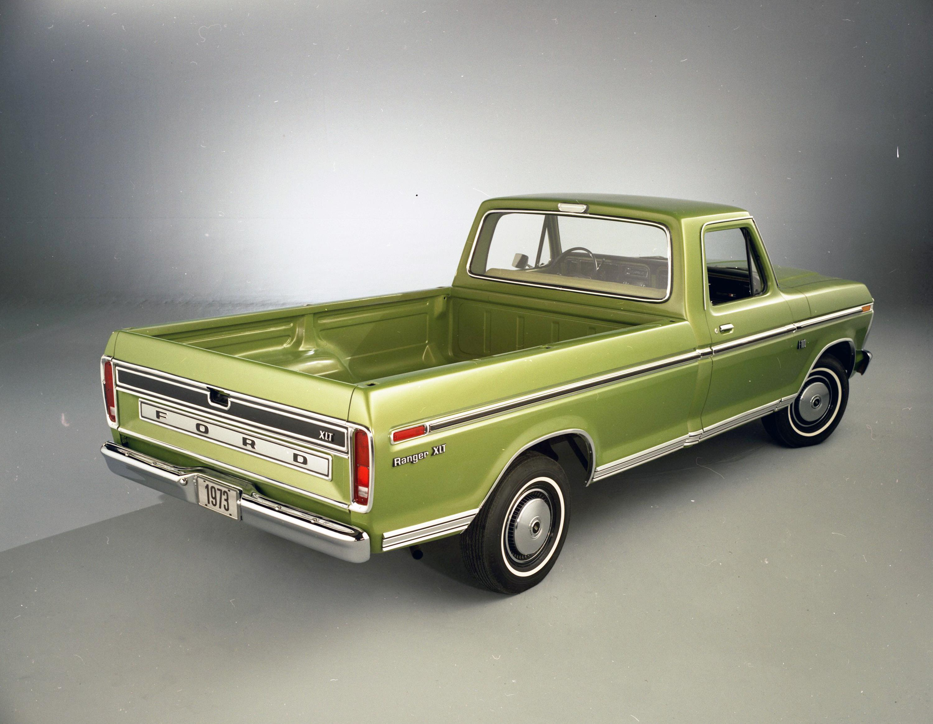 The Complete Book Of Classic Ford F Series Pickups Every Model From 1970 F100 Ranger Xlt View Larger