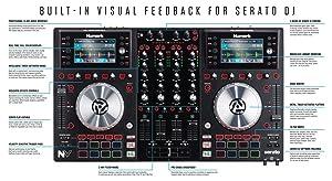 Numark NV, DJ Controller, Serato DJ, DJ equipment, visual feedback controller