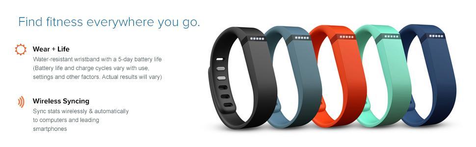 Lavender Fitbit Sleep//Activity Monitor Wristband Leather FB163LBLVL