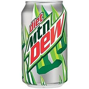 is diet mountain dew safe to drink