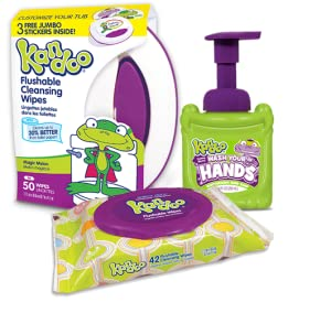Amazon Com Flushable Baby Wipes For Kids Sensitive By