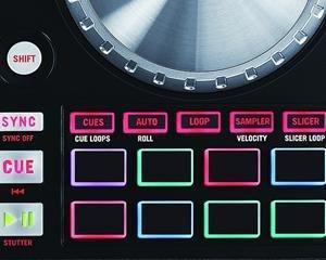 Numark NV, MPC pads, RGB pads, DJ controller