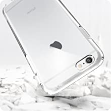 iphone 6s case cover clear design crystal cheap protective transparent shockproof absorbing