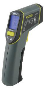 8:1 Mid-Range Infrared Thermometer General Tools IRT207 Laser Temperature Gun Thermal Detector