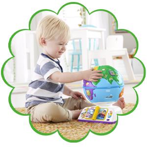Fisher-Price Greetings Globe Toy