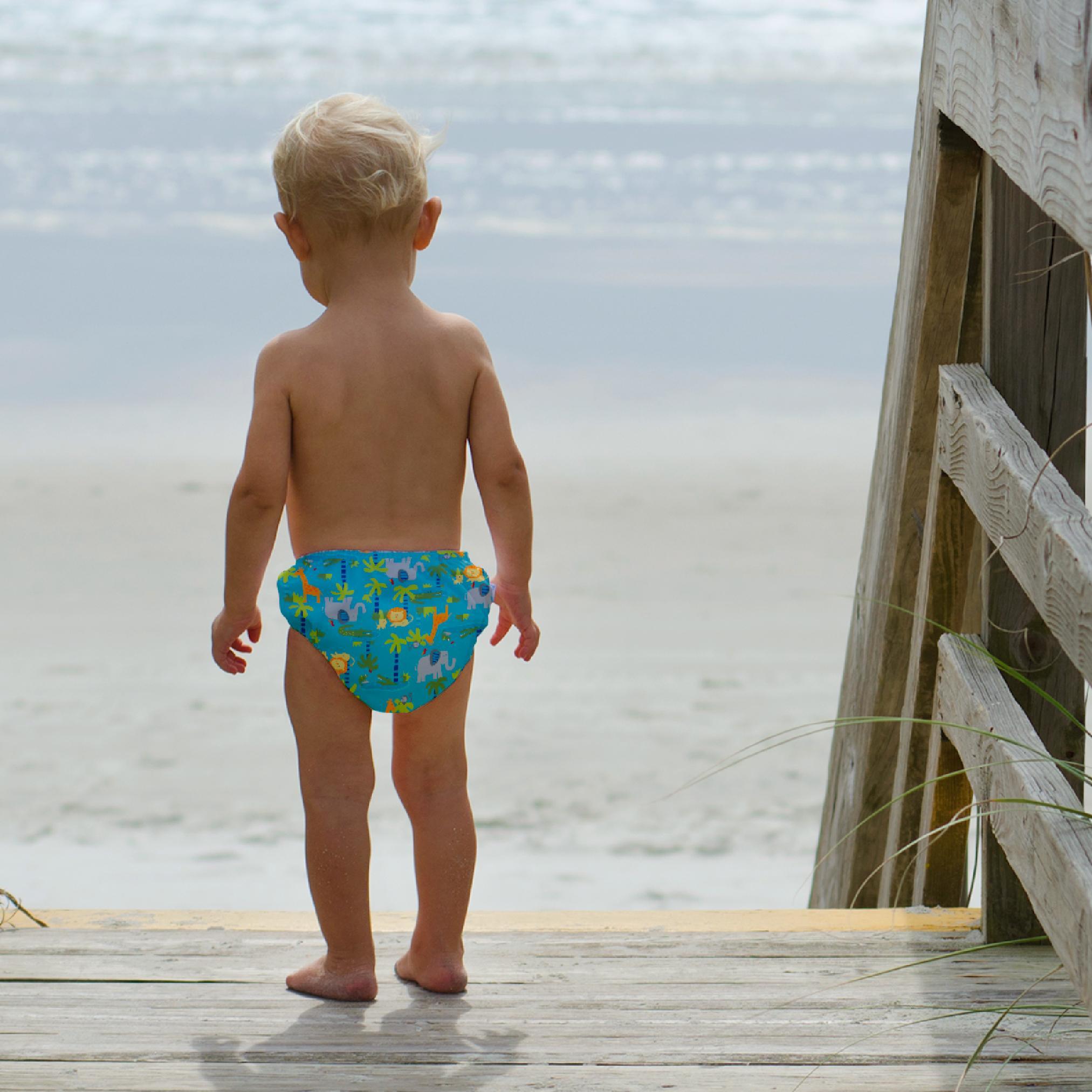 4d88eb4c00 Amazon.com: i play Unisex Reusable Absorbent Baby Swim Diapers: Clothing