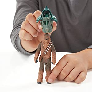 Star Wars The Force Awakens 3.75-Inch Figure Forest Mission Armor Chewbacca Hasbro B3891AS0