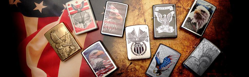 eagle lighter, bald eagle, national bird, zippo eagle lighters, zippo lighters