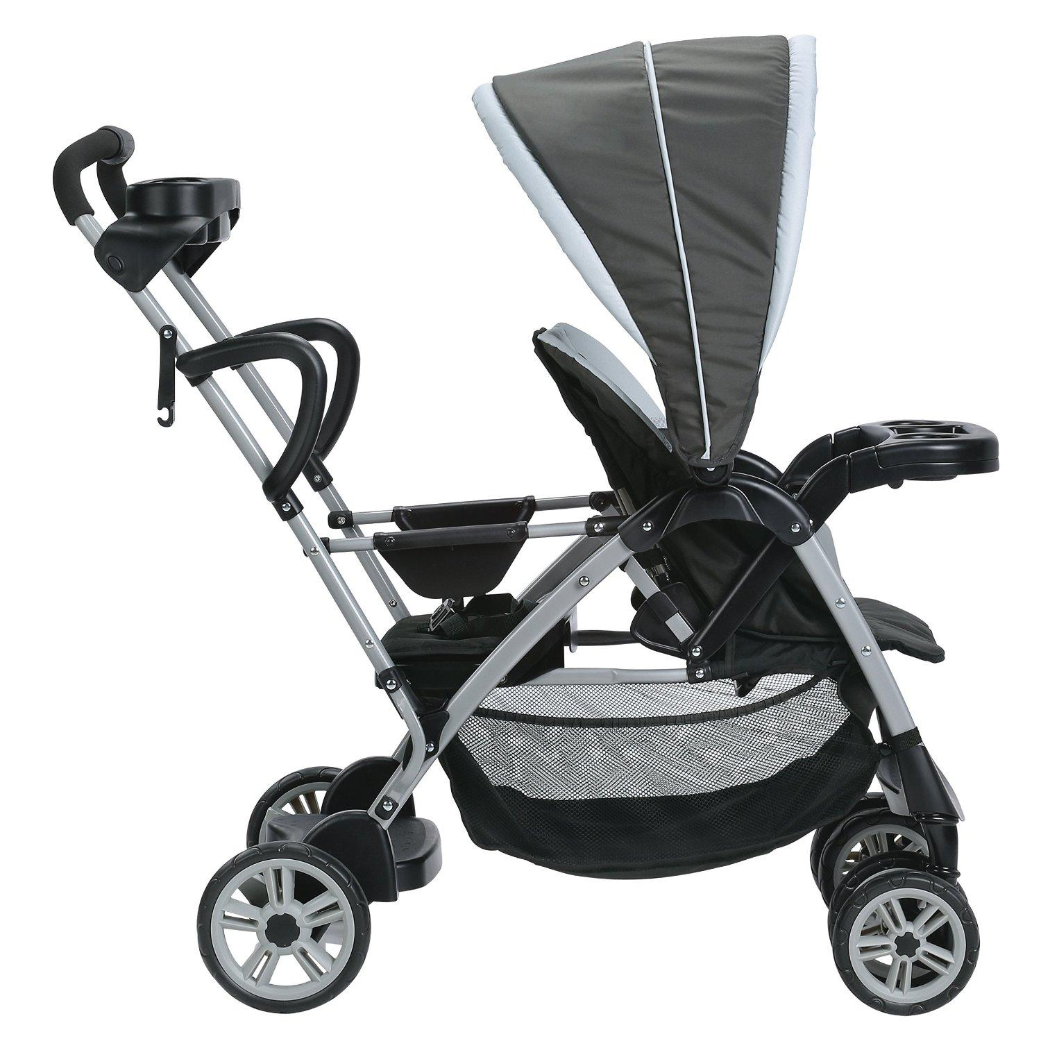 Amazon.com : Graco Roomfor2 Click Connect Stand and Ride Stroller ...