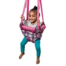 ExerSaucer, Door Jumper, Pink, Evenflo