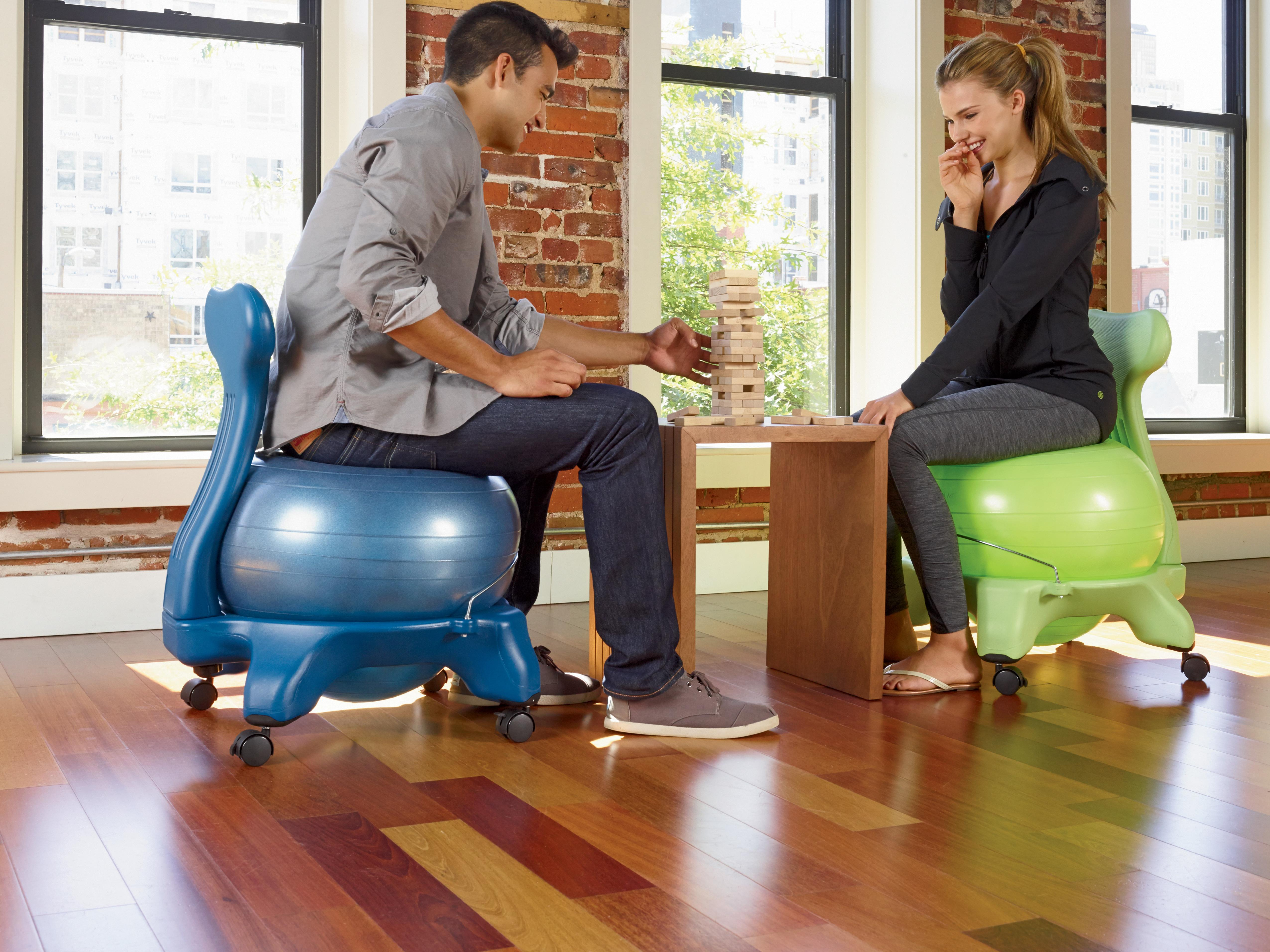 Yoga Ball fice Chair Balance Ball Chair Ball Chair Luxfit
