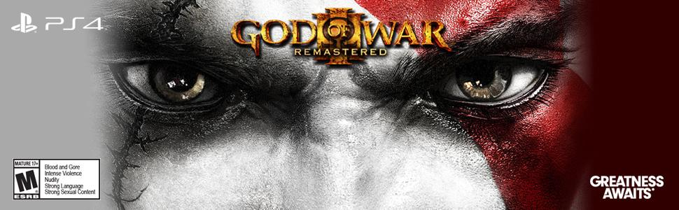 God of War 3;Remastered, GOW, PS4, PlayStation