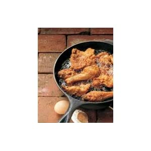 chicken fryer, deep skillet, cast iron frying pan
