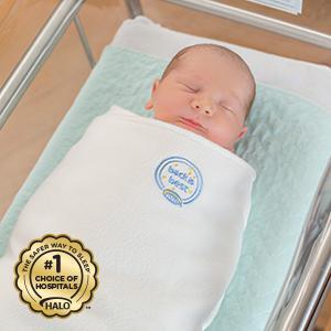 Amazon Com Halo Winter Weight Sleepsack Blue Large Baby