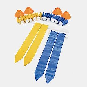 Set de Flags de fútbol SKLZ con banderas y conos