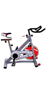 Belt Drive Indoor Cycling Bike by Sunny Health & Fitness SF-B901B