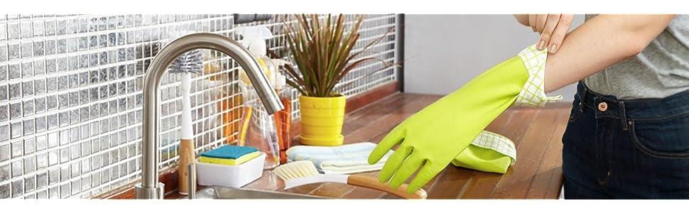 Full Circle, Splash Patrol, Full Circle Gloves, dish gloves, latex gloves, gloves
