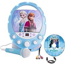 Amazon Com Frozen Disney S Karaoke Machine With Bonus