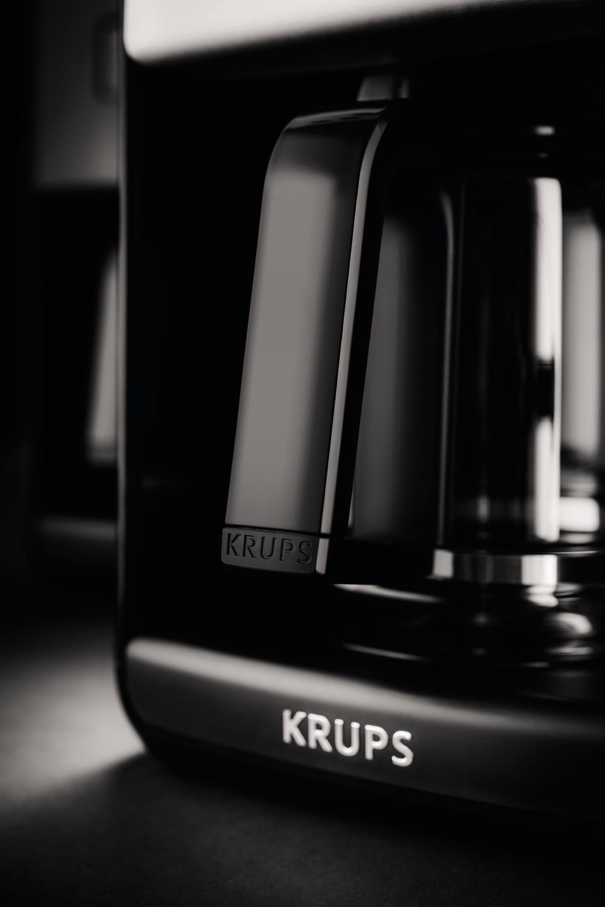 Amazon Com Krups Programmable Digital Coffee Maker Coffee Machine